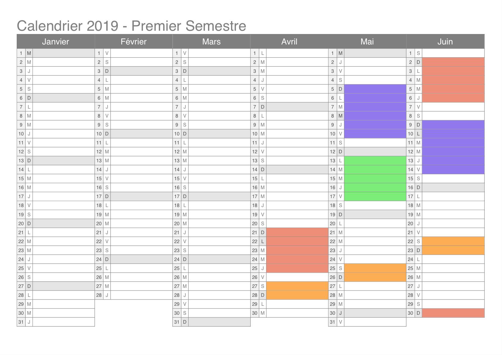 Calendrier 2019 Semestre 1.Calendrier 2019 Cheval Et Patrimoine